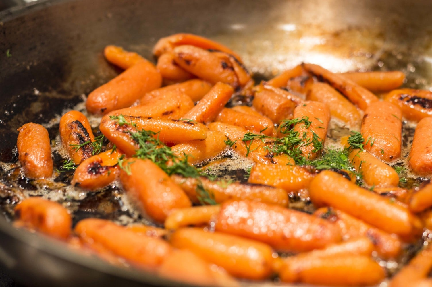 One Pot Blackened Carrots With Butter Dill Cleaver Cooking Interiors Inside Ideas Interiors design about Everything [magnanprojects.com]