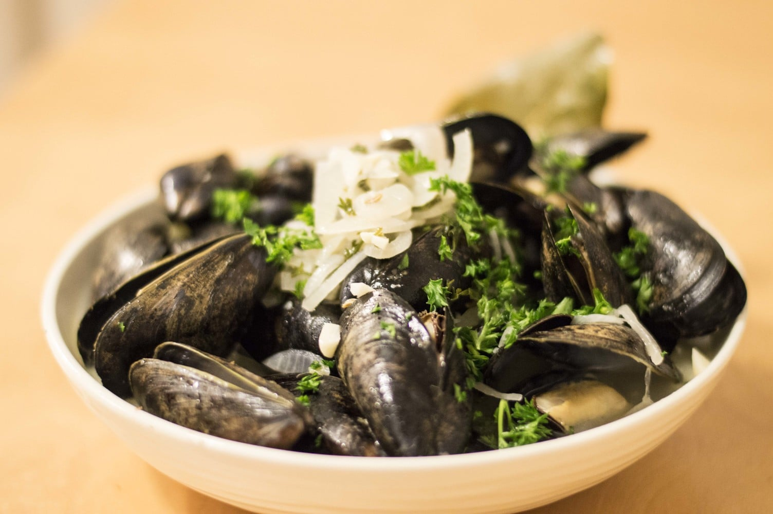 Drunken Mussels in White Wine Sauce - Cleaver Cooking